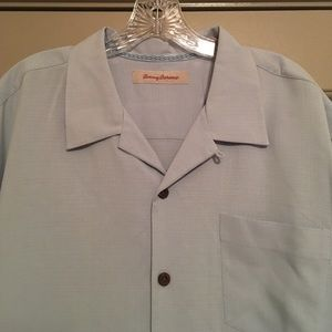 Tommy Bahama Shirts - Tommy Bahama Men's Embroidered S/S Button Up Shirt